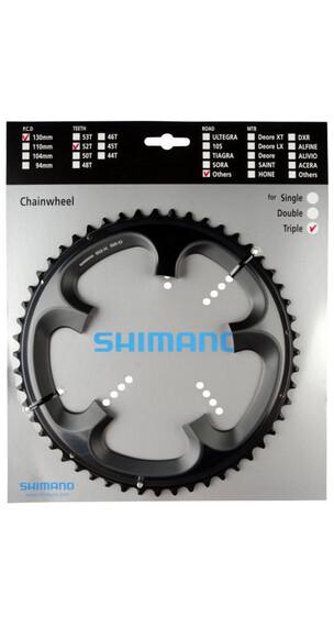 Shimano Tandem FC-R603 kettingblad 10-speed rechts grijs